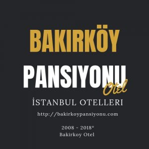 Bakırköy Butik Otelleri